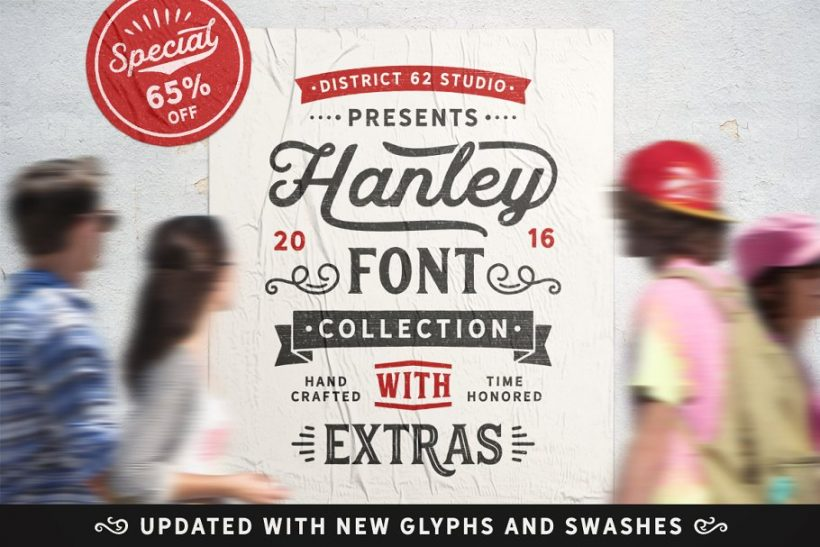 DISTRICT_62_STUDIO_Hanley_Font_Collection