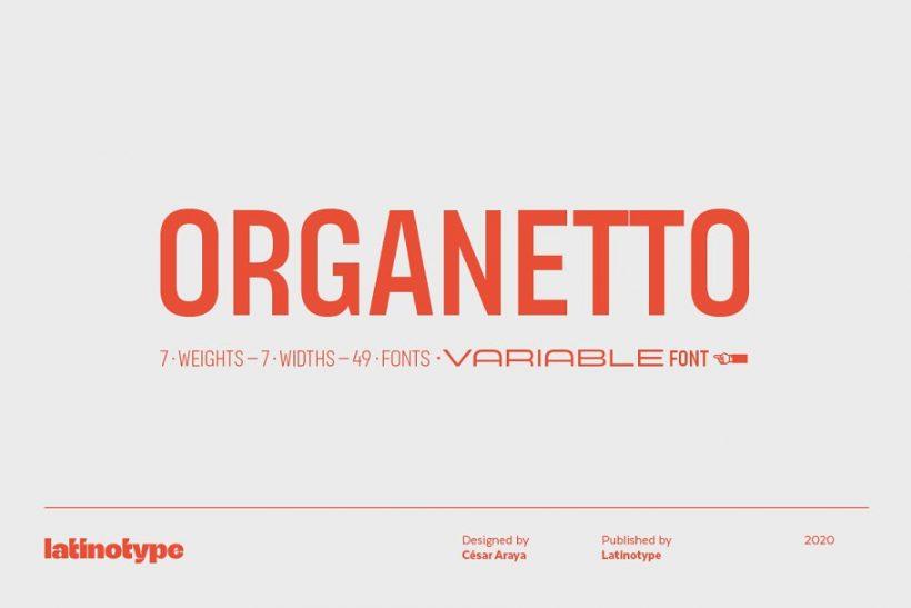 Latinotype_Organetto