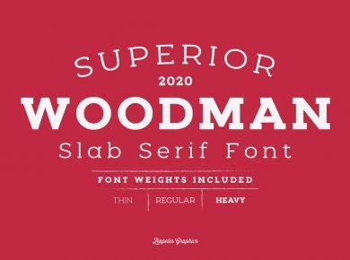 Zeppelin_Graphics_Woodman_Slab_Serif_Font