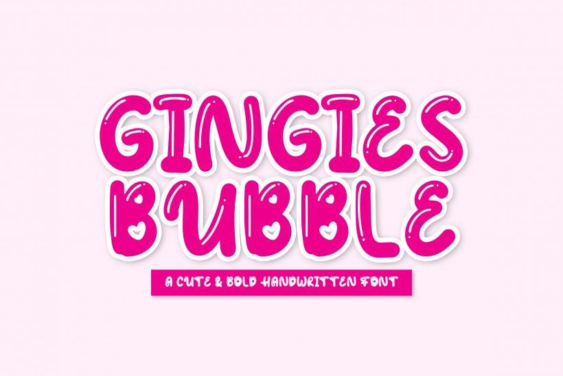 Rometheme_Gingies_Bubble